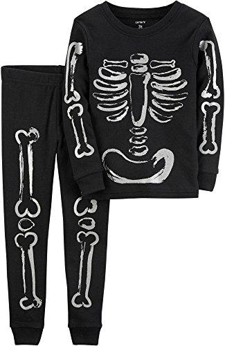 Carters Toddler Unisex Skeleton Pajama Set 4T (Pajamas Stores)