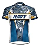 Primal Wear Men's US Navy Camo Cycling Jersey - NAT1J20M (US Navy Eleven - 2X)