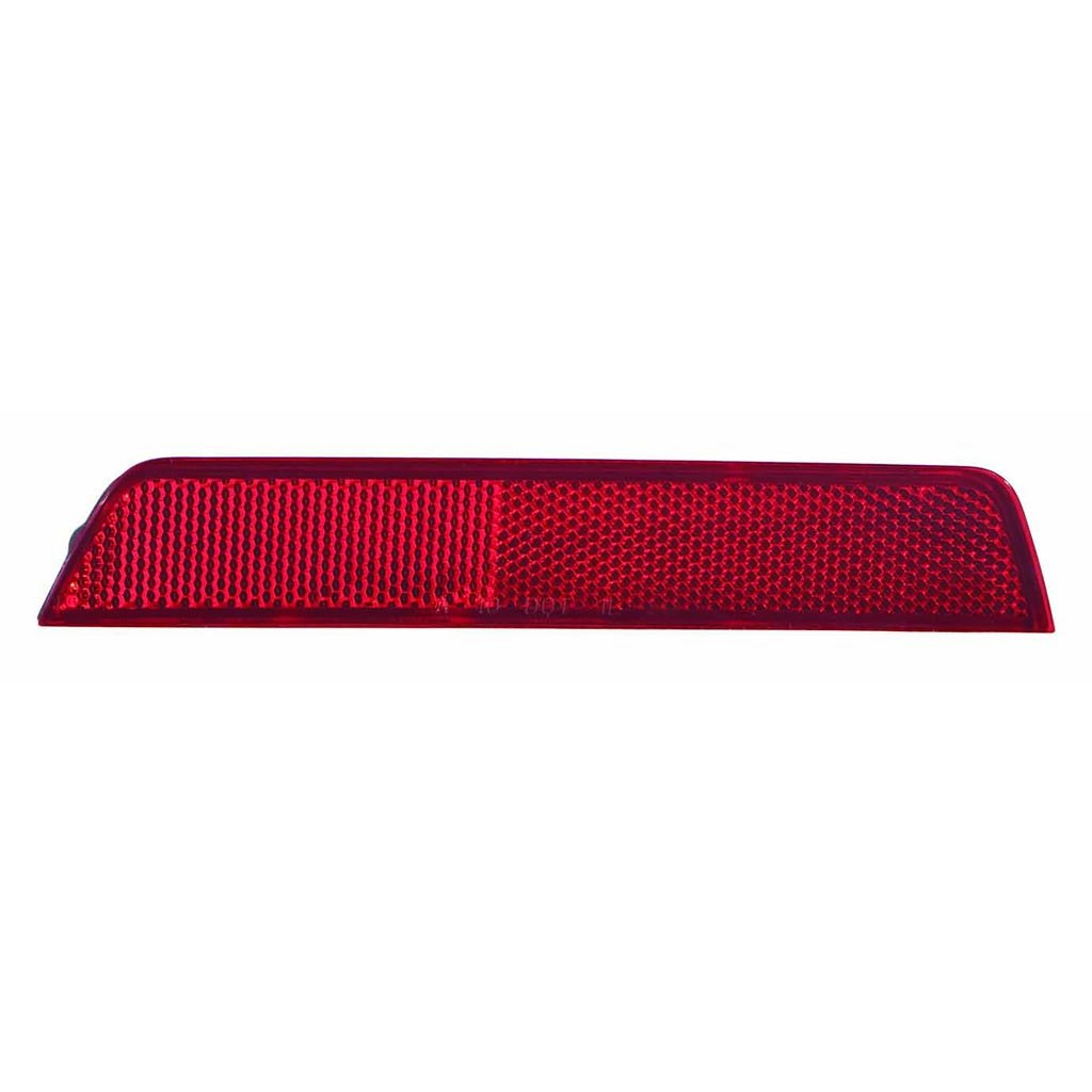 GM1184110N NSF Certified Fits Chevrolet Equinox 2010-2015 Rear Reflector Lamp Unit Driver Side