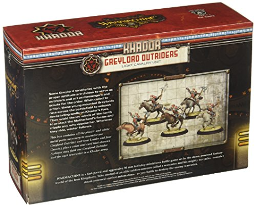 Privateer Press - Warmachine - Khador Greylord Outriders Model Kit 4
