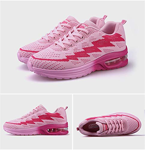 excellent c Sneakers Shoes Pink Walking Lightweight 01 Flat Men's Shoes UwUOCqr