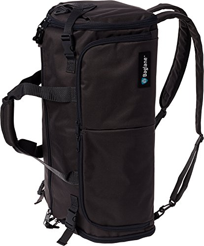 - BagLane Hybrid Backpack Garment Bag - Travel Carry On Suit Bag (Black)