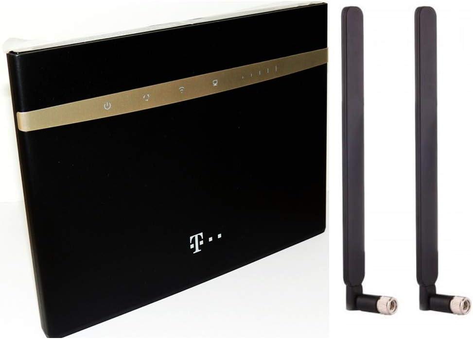 Huawei Desbloqueado B525s-23a 300 Mbps 4G Router móvil Wi-Fi con modo puente, VOIP y 2 antenas SMA Funciona con cualquier tarjeta SIM en todo el mundo