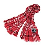 Littlearth NBA Toronto Raptors Plaid Crinkle Scarf