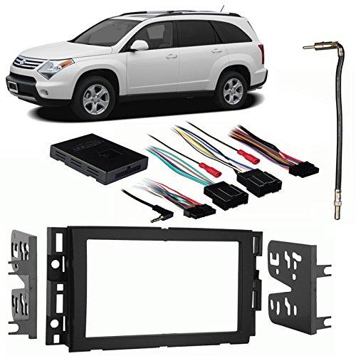 Fits Suzuki XL-7 2007-2009 Double DIN Stereo Harness Radio Install Dash Kit