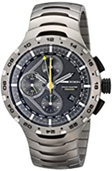 Momo Design Men's MD100-02BKBK-MB Master Racer Titanium Automatic Watch with Link Bracelet