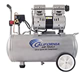 Cheap California Air Tools 8010 Ultra Quiet & Oil-Free 1.0 hp Steel Tank Air Compressor, 8 gal, Silver