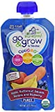 organic similac - Similac Go & Grow Organic Baby Food Pouches with Optigro, 4 Oz, 6 Pack, Apple, Butternut Squash, Banana, & Blueberry, 6 Count