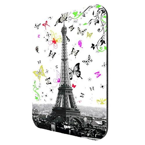 (Eiffel Tower Butterfly Swoop - Mousepad)