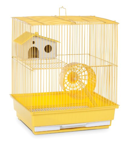 2-Story Small Animal Cage Color: Yellow
