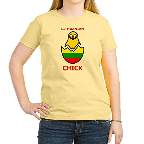 Lithuanian Chick - CafePress - Lithuanian Chick Women's Light T-Shirt - Womens Cotton T-Shirt, Crew Neck, Comfortable & Soft Classic Tee