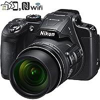 Nikon 26510B COOLPIX B700 20.2 MP 60x Optical Zoom Super Telephoto NIKKOR Digital 4K Wi-Fi Camera (Black) - (Certified Refurbished) + 16GB SDHC Memory & Accessory Bundle by Nikon