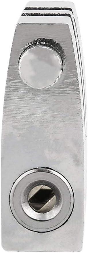 Silber Universal-Edelstahl-8 L/öcher Auto Clutch Lock-Auto-Bremsen-Gassperre Gaspedal Sperre Anti-Diebstahl-Auto Supplies DEjasnyfall