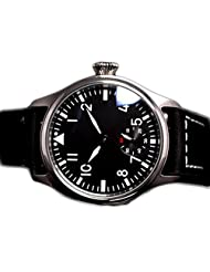 Parnis Luminous Men's Army Mechanical Hand Wind Watch M222s Seagull St3600 Movement