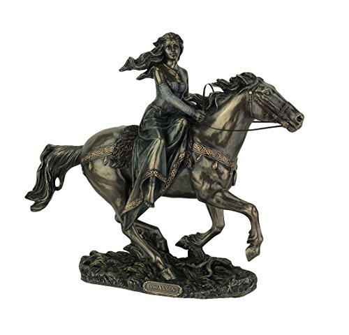 - Rhiannon - Celtic Goddess on Horse Statue