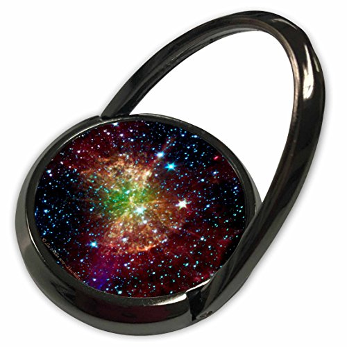 3dRose Lee Hiller Designs Space - In the Cosmos - Dumbbell Nebulapia - Phone Ring (phr_61548_1)