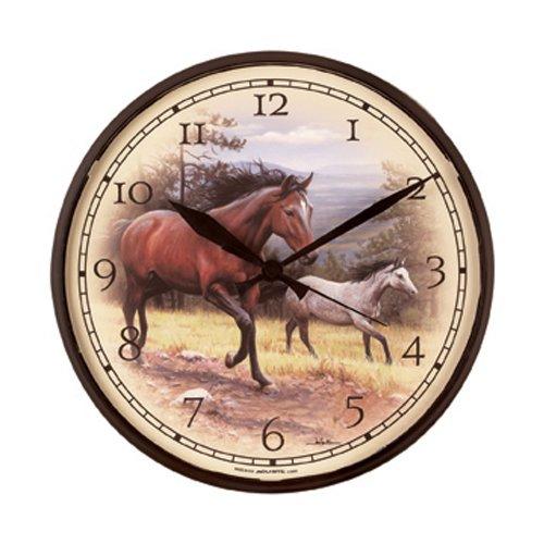 AcuRite 1865 12 5 Inch Horses Clock