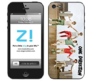 Zing Revolution One Direction Premium Vinyl Adhesive Skin for iPhone 5 - Retail Packaging - Jump hjbrhga1544