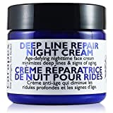 Natural Anti Wrinkle Night Cream - Carapex Deep Line Repair Night Cream, Fragrance Free Anti Aging Moisturizer for Sensitive Dry to Combination Skin, Paraben Free, 2oz 60ml