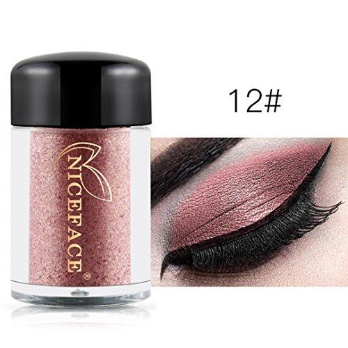 Oksale 29 Colors Eye Shadow Makeup Pearl Metallic Eyeshadow Palette for Professional Makeup Daily Use ()