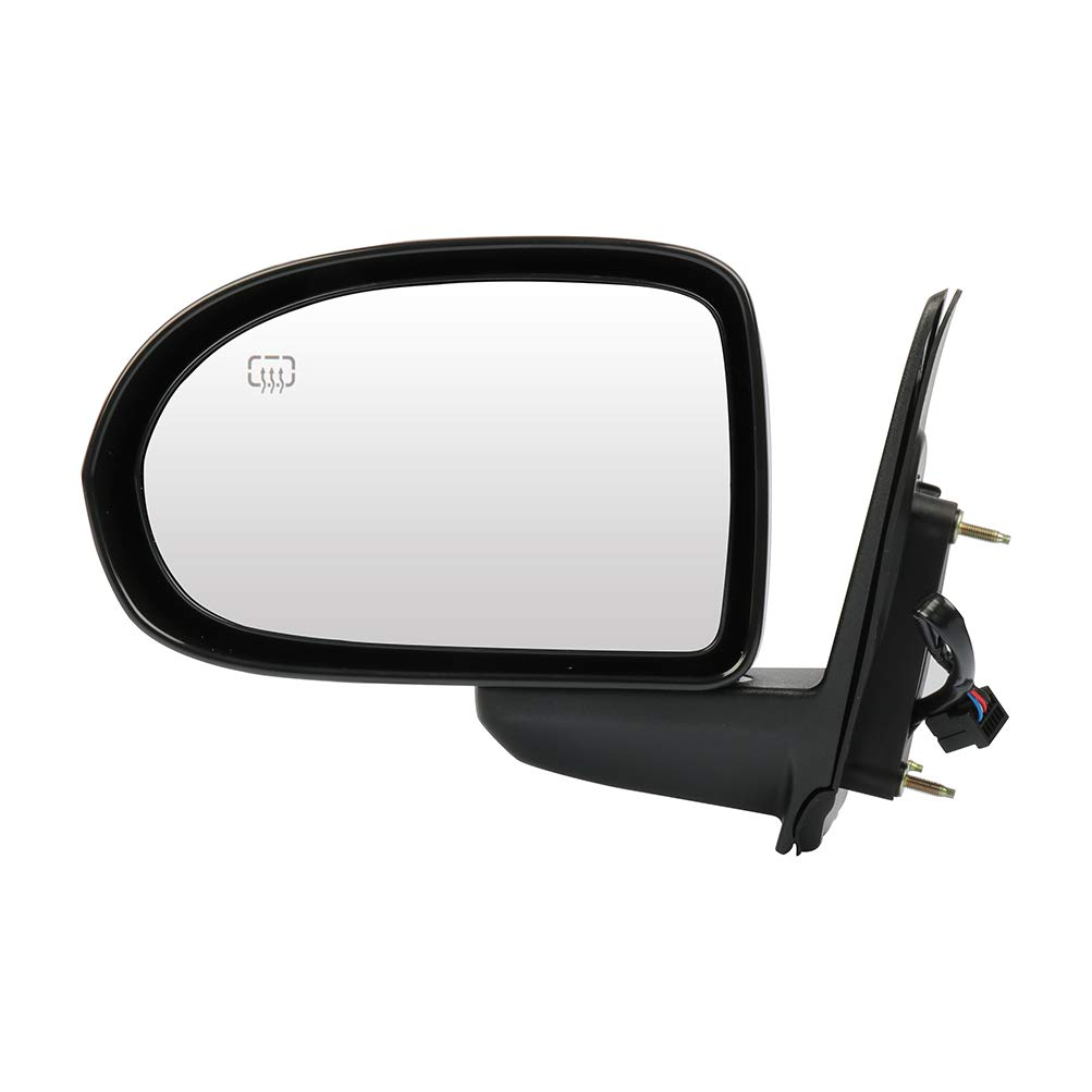 SCITOO Driver Left Side Mirror Flat Side View Mirror Fits for 2007-2014 JEEP COMPASS Power Control Heated Manual Folding 5115047AK CH1320262