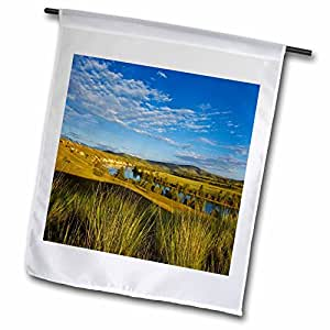 Danita Delimont - Mountains - Mission Mountains, Flathead River, Montana - US27 CHA2173 - Chuck Haney - 18 x 27 inch Garden Flag (fl_91968_2)