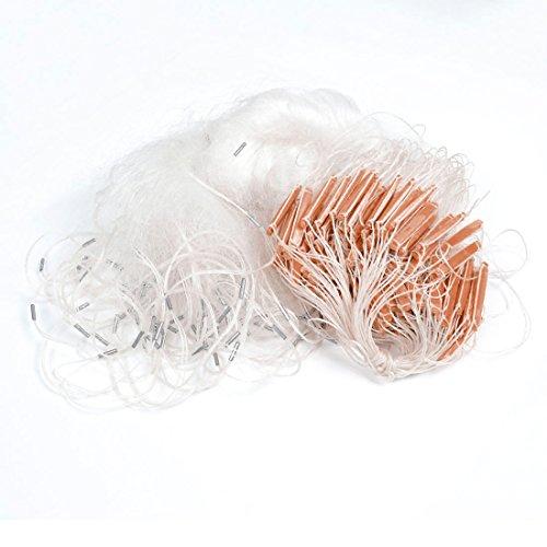 UPC 702105908594, 60M x 1.2M White Knotted Mesh Fishing Fish Gill Net for Fisherman