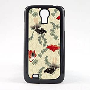 Case Fun Case Fun Japenese Koi Fish Snap-on Hard Back Case Cover for Samsun Galaxy S4 Mini (I9190)
