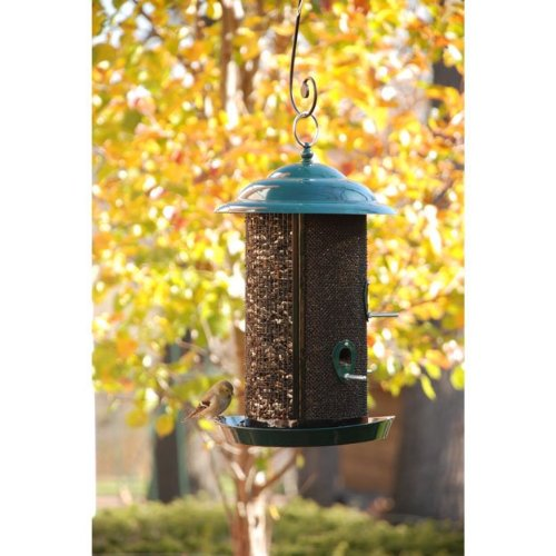 Combination Nyjer & Mixed Seed Mesh Bird Feeder by Woodlink