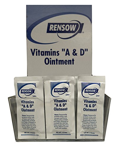Rensow NADF Super Vitamins A and D Ointment, 144 Foil Packets Ointment Foil