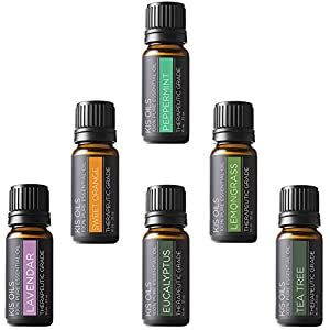 Ratings and reviews for Aromatherapy Top 6 100% Pure Therapeutic Grade Basic Sampler Essential Oil Gift Basic sampler essential oil gift set 6/10ml (lavender, sweet orange, peppermint, lemongrass, tea tree, eucalyptus)