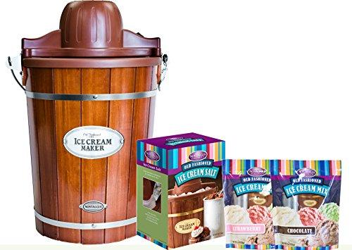 Nostalgia ICMP600WDBUN 6 Quart Bucket Cream product image