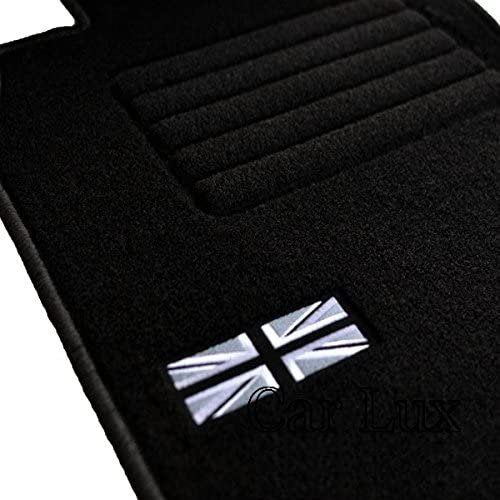 Car Lux nar00693/ /Tapis de sol voiture tapis individualis/é Cooper S Cabrio depuis 2004