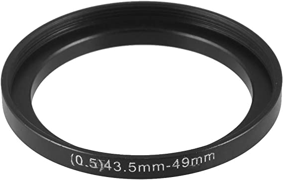 uxcell Replacement 40.5mm-55mm Camera Metal Filter Step Up Ring Adapter