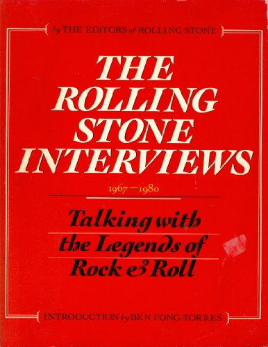 Johnny Cash Rolling Stone (The Rolling Stone Interviews, 1967-1980: Talking with the Legends of Rock & Roll)