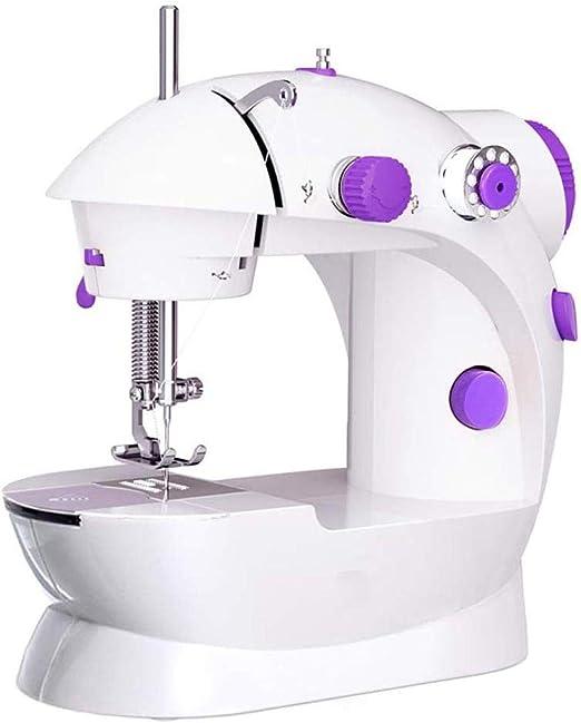 Yuaer Máquina de coser portátil, pequeña herramienta de costura ...