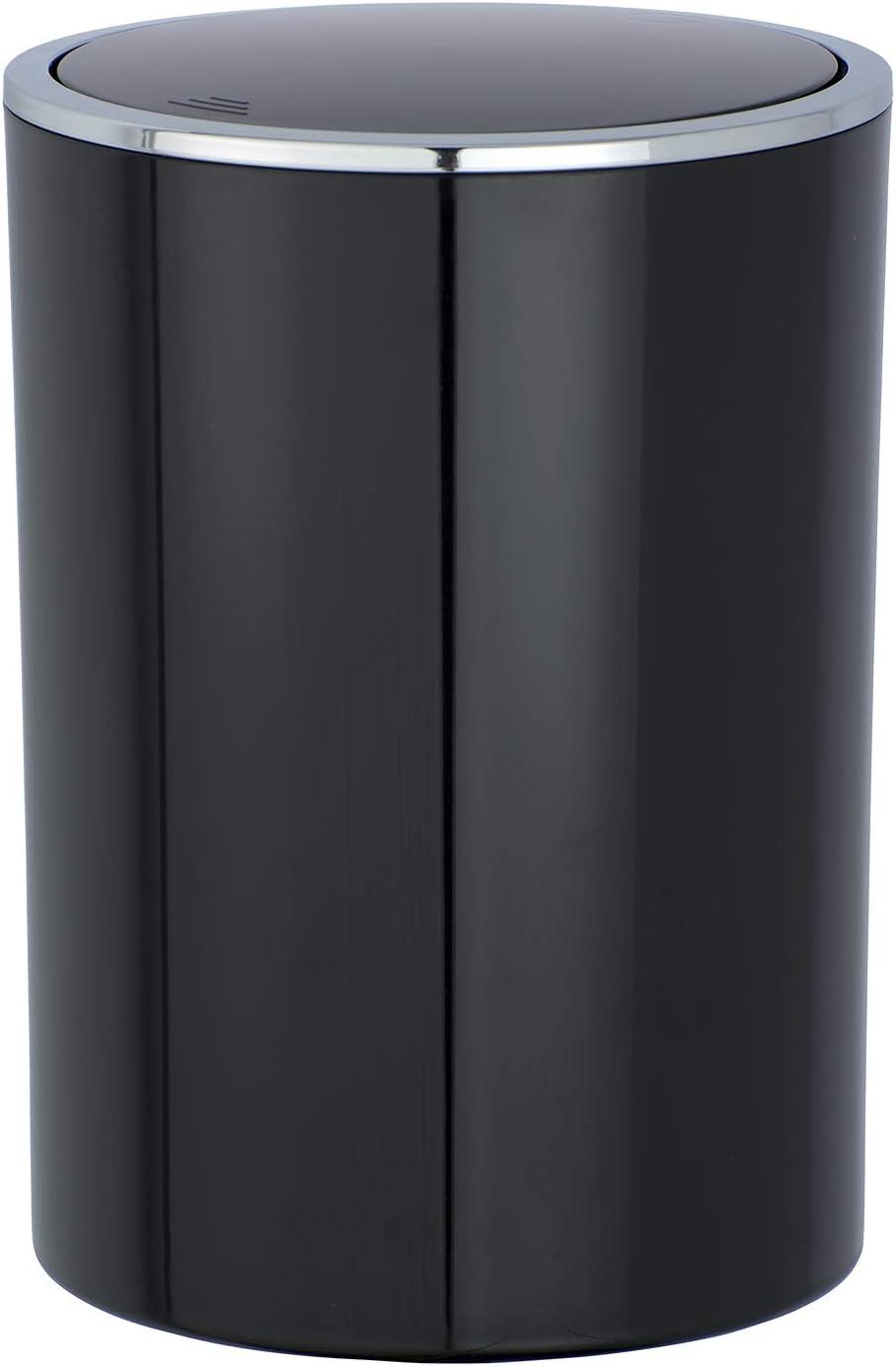 Wenko 22464100 Schwingdeckeleimer Candy Abfallbehälter mit Schwingdeckel