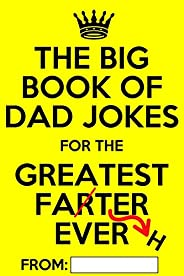The Big Book of Dad Jokes: Terribly Good Personalized Dad Joke Book
