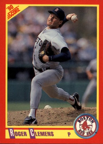 (1990 Score #310 Roger Clemens UER Dominate, should say dominant)