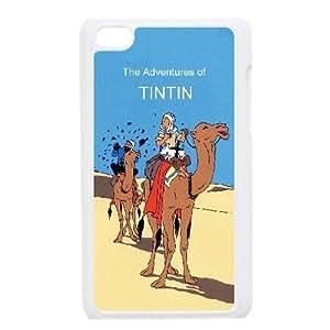 TinTin cartoon iPod Touch 4 Case White JR5170370
