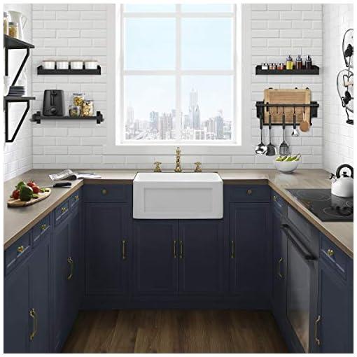 Kitchen Swiss Madison Well Made Forever SM-KS245 Delice Ceramic Kitchen Sink, White modern kitchen sinks