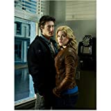 Haven Eric Balfour as Duke Crocker and Emily Rose as Audrey Parker Standing Closely Together Looking at Camera 8 x 10 inch photo