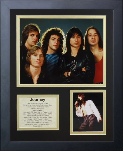 Legends Never Die Journey Framed Photo Collage, 11 by 14-Inch (Framed Journey)