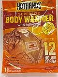 Hothands Adhesive Body Warmer (Choose Quantity Below) (2pk (16 Warmers))