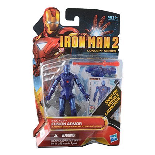 Iron Man 2 Concept 4 Inch Action Figure #15 Fusion Armor Iron Man