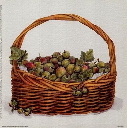 Bambi Papais - Basket Of Gooseberries (Bambi Papais Basket)