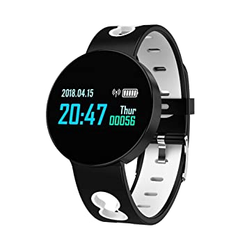 Qomomont Reloj Inteligente Bluetooth Smartwatch Deportivo Pulsera ...