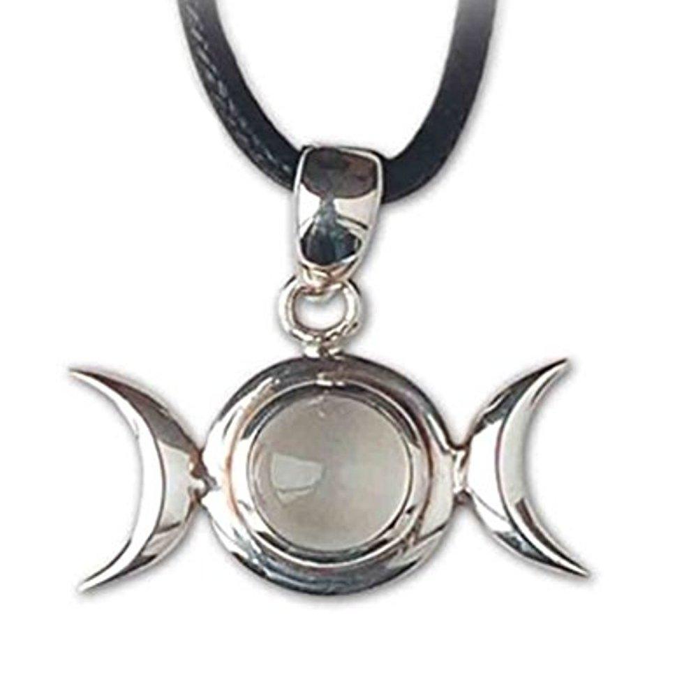 Anhänger Mondphase Keltischer 925er Silber Schmuck etNox - Für psychische Fähigkeiten - 145M ECHT K145M