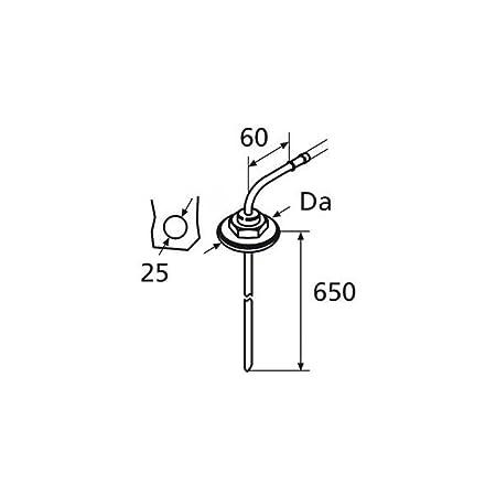 Amazon Com Webasto Heater Fuel Tank Stand Pipe 650mm X 5mm