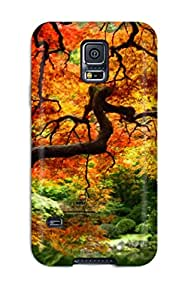 Quality LovingShop Case Cover With Fall Trees Nice Appearance Compatible With Galaxy S5
